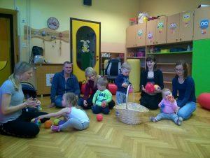Glasbena delavnica za dojenčke in malčke